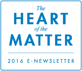 Link to The Heart of the Matter E-Newsletter