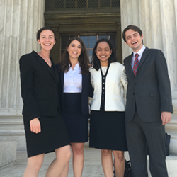 "A photo of the 2016 DC Summer Associates at ""the"" court"