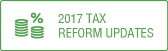 This button takes you to the Tax Reform Update section of the website