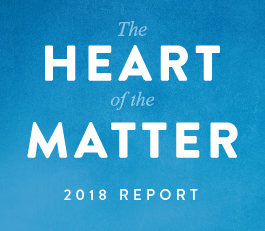 Click here to read The Heart of the Matter 2018 Report