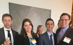 Summer associates attend the firm's 17th Annual Diversity Dinner.