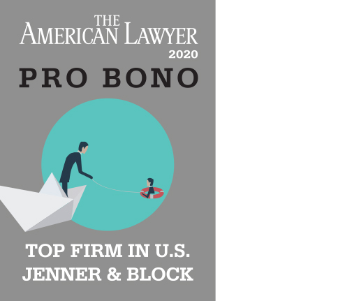The American Lawyer's Annual Survey Ranks the Firm No. 1 in Pro Bono for Fourth Consecutive Year