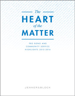 Please click here for a pdf of The Heart of the Matter Pro Bono Report.