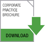 Click here for a PDF of the Corporate Practice Brochure