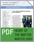 Pro Bono Newsletter, 2005 Winter Heart-of-the-Matter-Newsletter