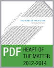 Pro Bono Newsletter, 2014 Heart of the Matter