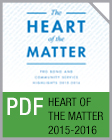 Pro Bono Newsletter, 2015-2016 Heart of the Matter